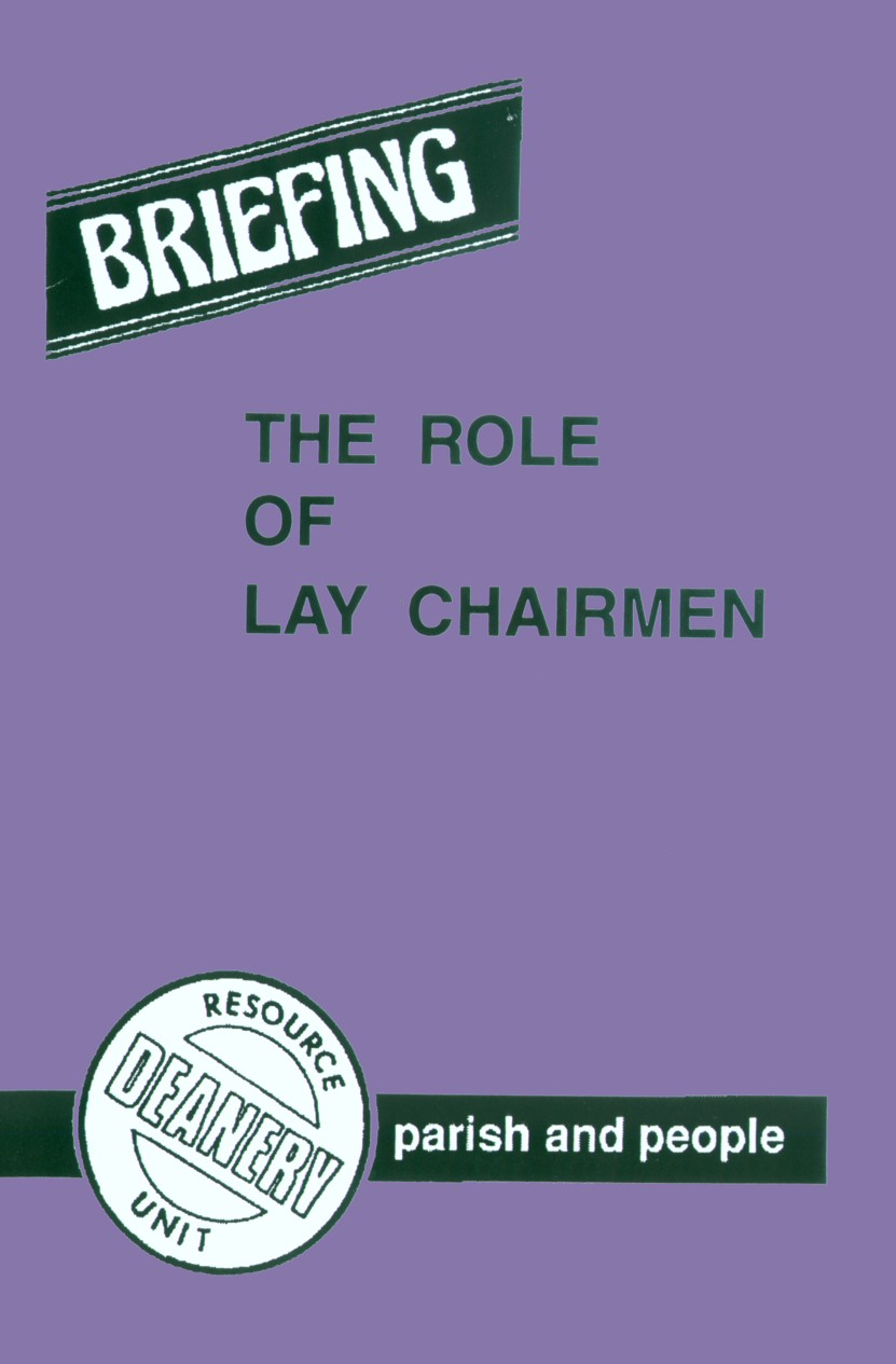 Role of Chairman Front Cover