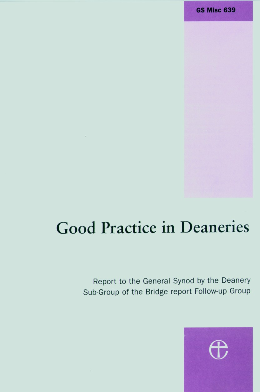 Good Practice in Deaneries Front Cover